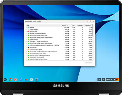 Access Task Manager on Your Chromebook Pro