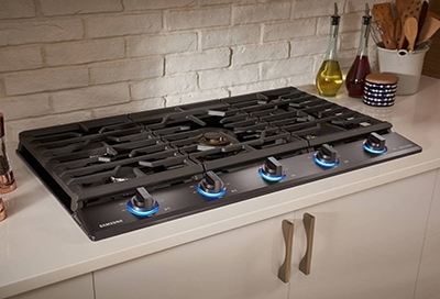 How to clean your Samsung gas cooktop