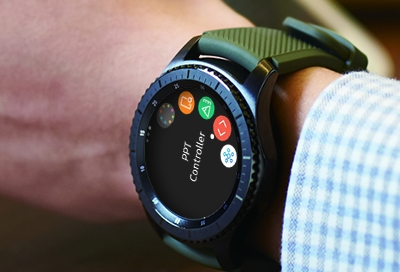 Control PowerPoint Presentations with Your Watch