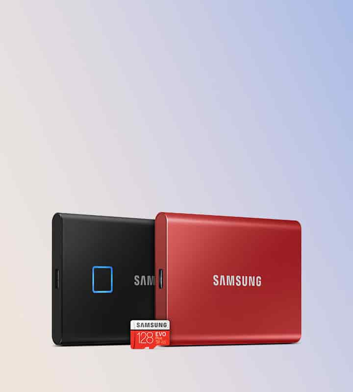 Find savings on all Samsung memory