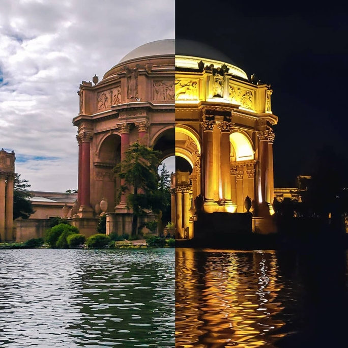 Palace of Fine Arts, San Francisco USA