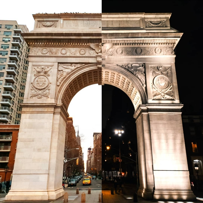 Washington Square, New York, New York USA