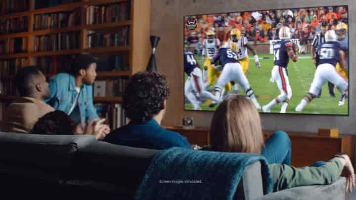 QLED  Made for football