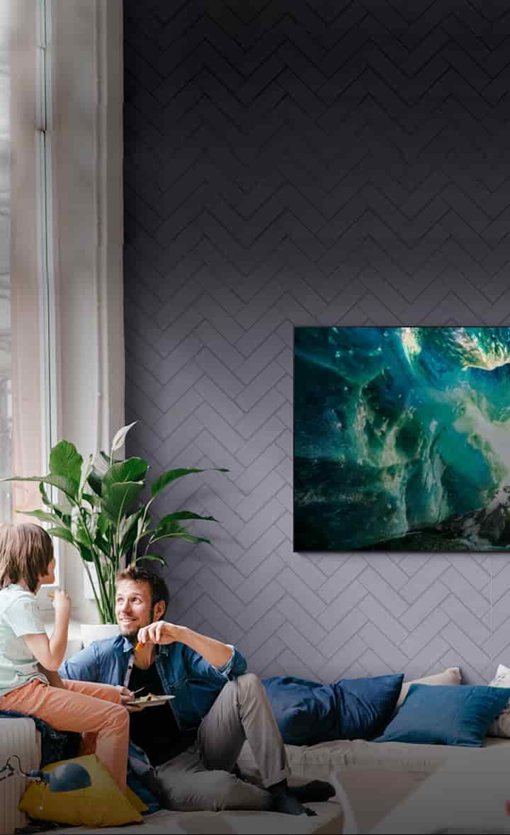 Bring the theater experience home with QLED