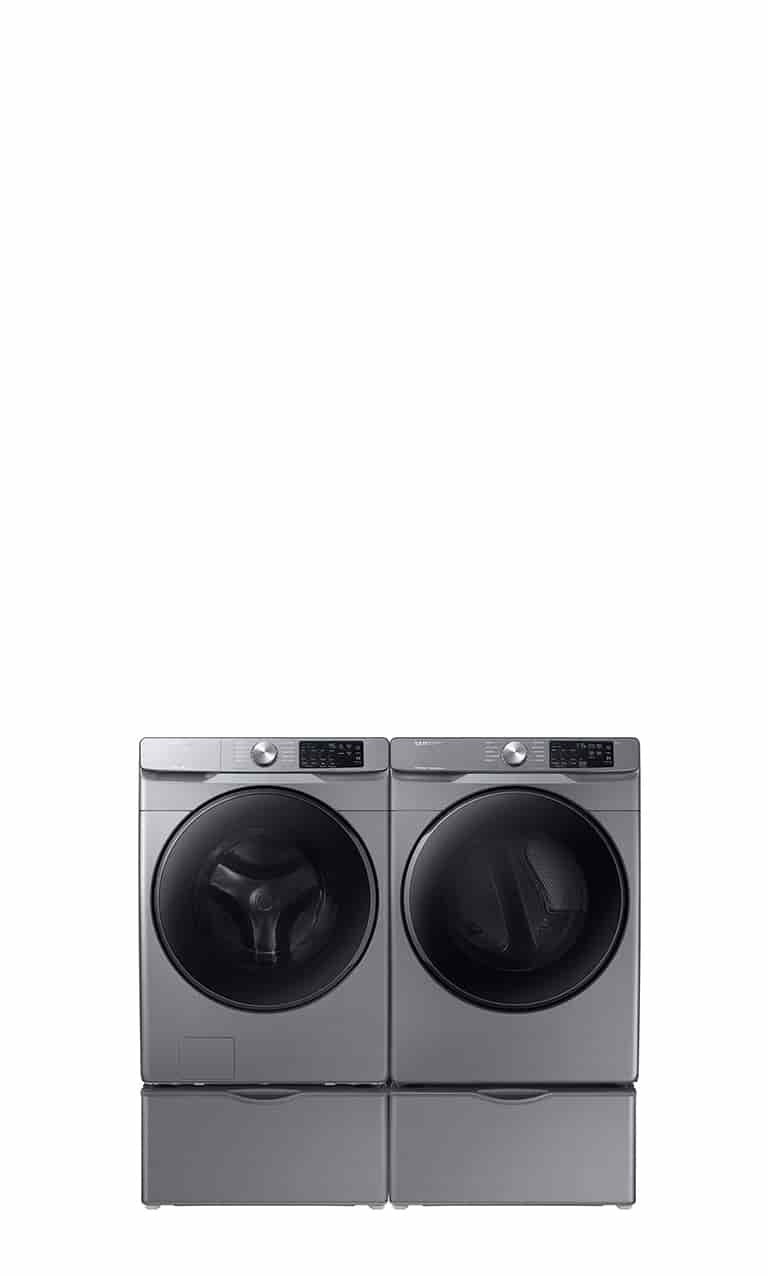 Get up to 30% off select washers and dryers