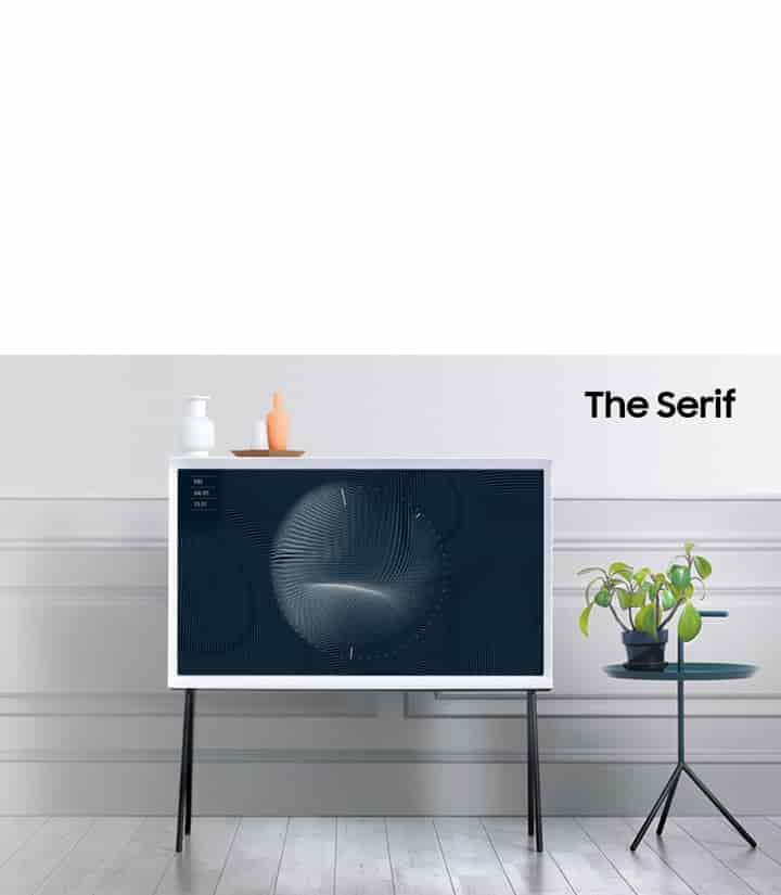 The Serif with QLED Technology