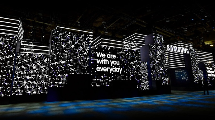 Experience CES 2019 with Samsung