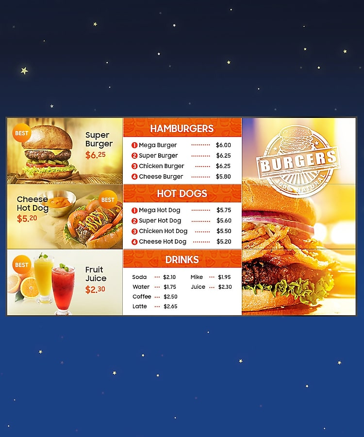 durable LCD digital signage