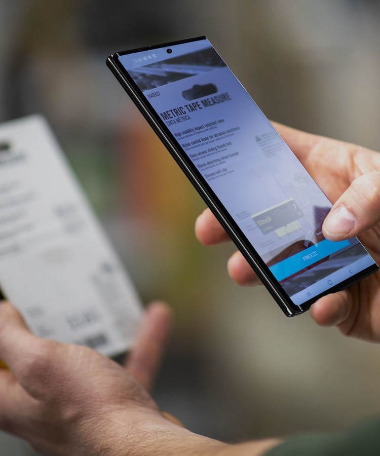 Galaxy Note20 for retail