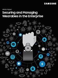 wearable device security and manageability