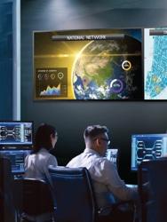 digital signage in control rooms