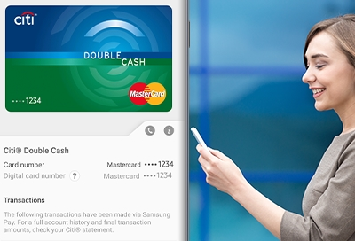 Manage credit and debit cards in Samsung Pay