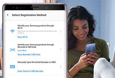 Register a Device in Samsung Members