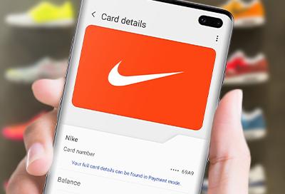 físico virtual Peligro  Make a Samsung Pay purchase using a gift card's barcode