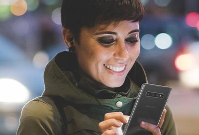Use Edge lighting on your Galaxy phone