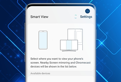Share your Galaxy phone's screen using Smart View