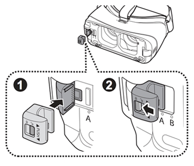Replace The Phone Holder For Gear Vr