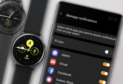 Manage notifications on your Samsung smart watch