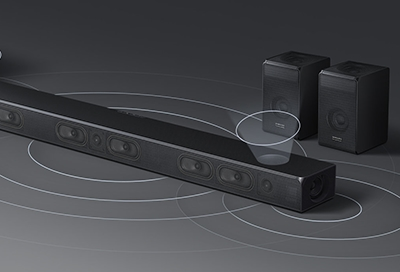 Set Up Rear Surround Using the Wireless Rear Speaker Kit