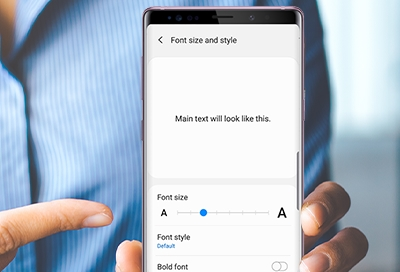 Customize Your Phone's Font Settings