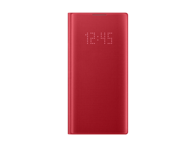 Galaxy Note10 LED Wallet Cover, Red