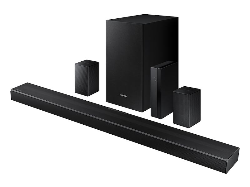 Samsung Hw Q67ct 7 1ch Soundbar With Acoustic Beam And Wireless Rear Kit 2020 Samsung Us