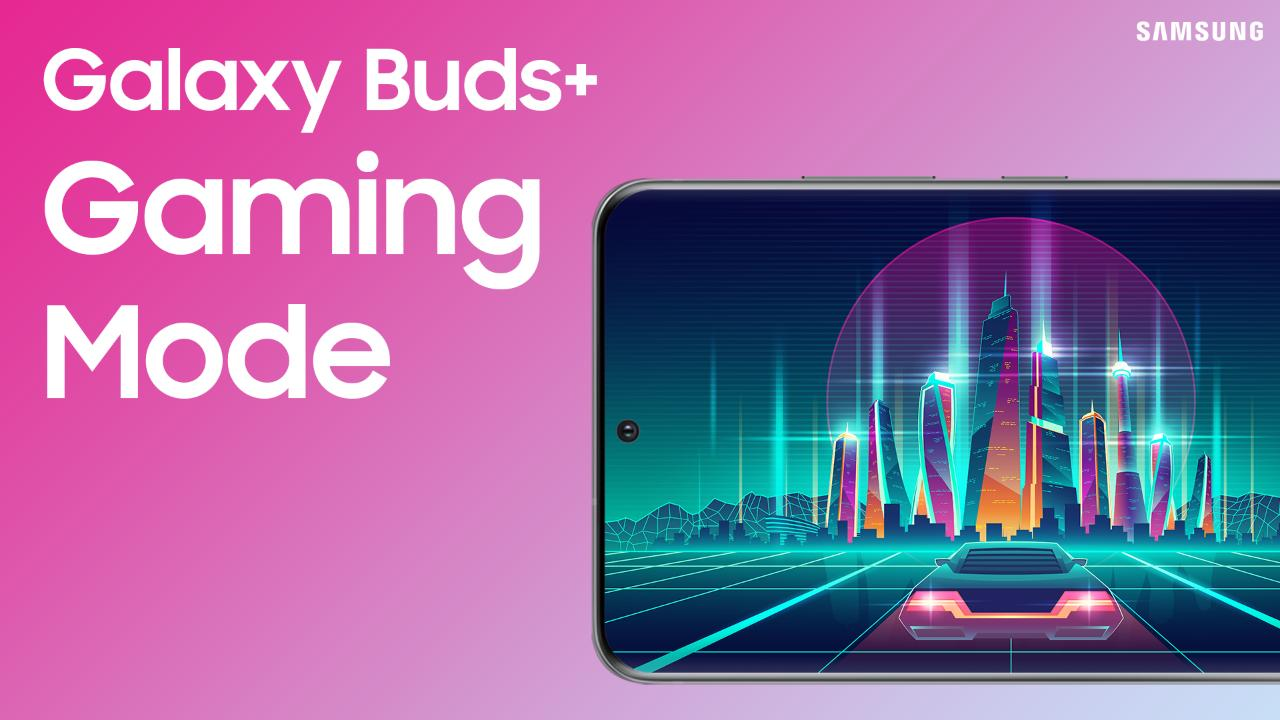 Using Gaming mode on your Galaxy Buds