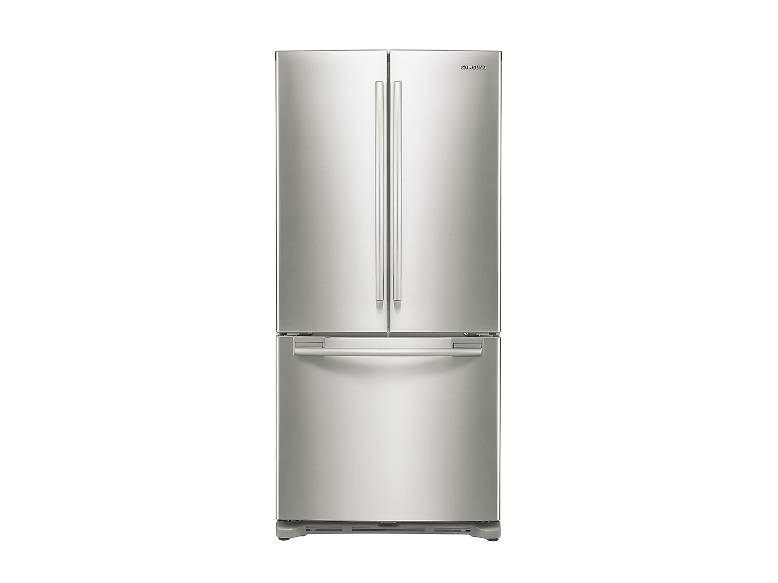 Samsung 18 cu. ft. Counter Depth French Door Refrigerator in Stainless Steel(RF18HFENBSR/US)