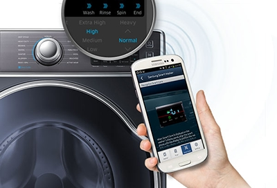Use Smart Care on Washer and Dryer
