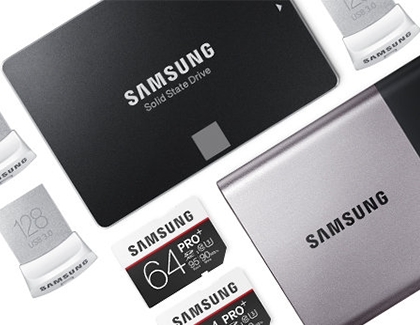 Samsung SSD, Sim Cards, and other storage options