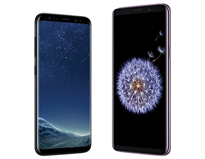 Galaxy S8/S8+ and S9/S9+ Side by side