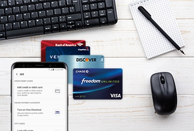 Add A Credit or Debit Card to Samsung Pay