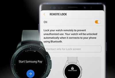 Remotely Lock or Reset Samsung Pay on Your Watch