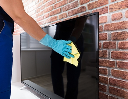 General Cleaning for LED TVs