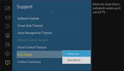Turn Store Demo Mode Off On The 2015 4k Uhd Tv