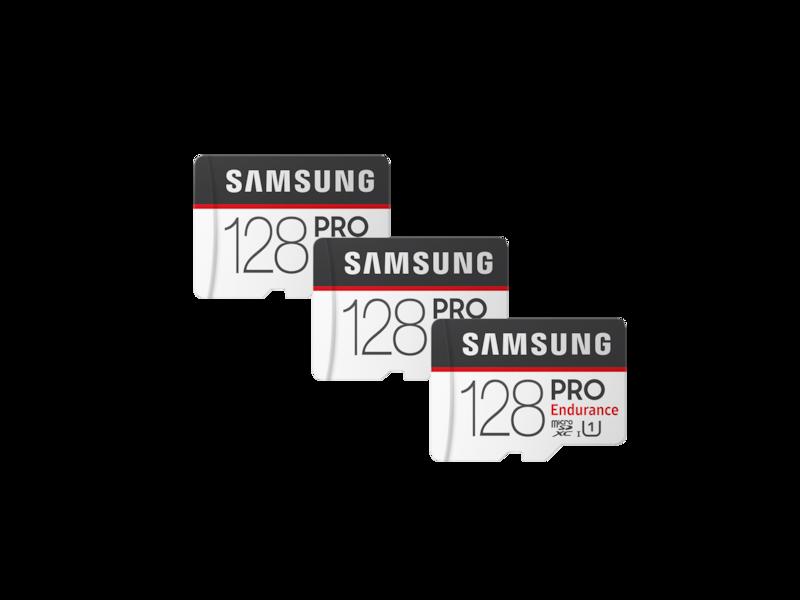 PRO Endurance microSD Memory Card 128GB - 3 Pack