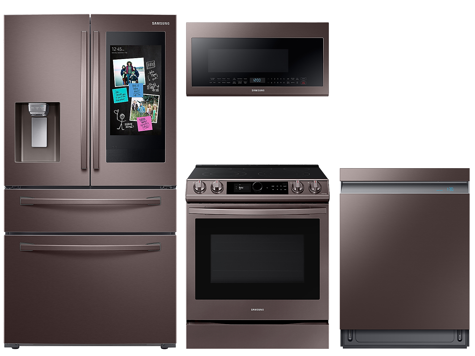 Samsung coupon: Samsung 22 cu. ft. counter depth 4-door Family HubTM refrigerator