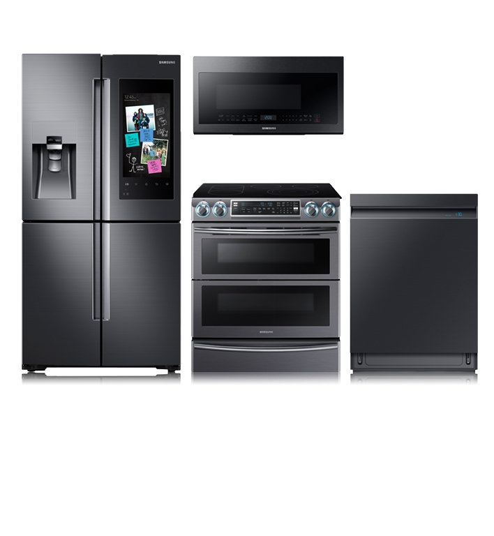 Up to 25% off and 24-month financing on select appliance packages.‡
