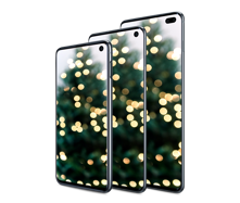 Get the Galaxy S10 starting at $549.99 with eligible trade inᶿ