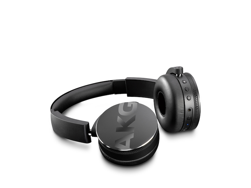 Akg Y50bt On Ear Bluetooth Headphones Headphones Eo Y50btblkakg