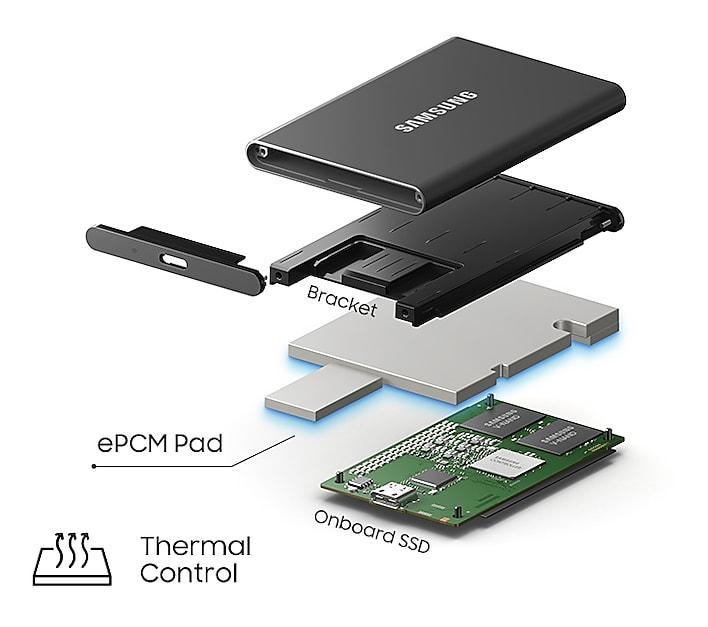 Samsung External SSD T7 20