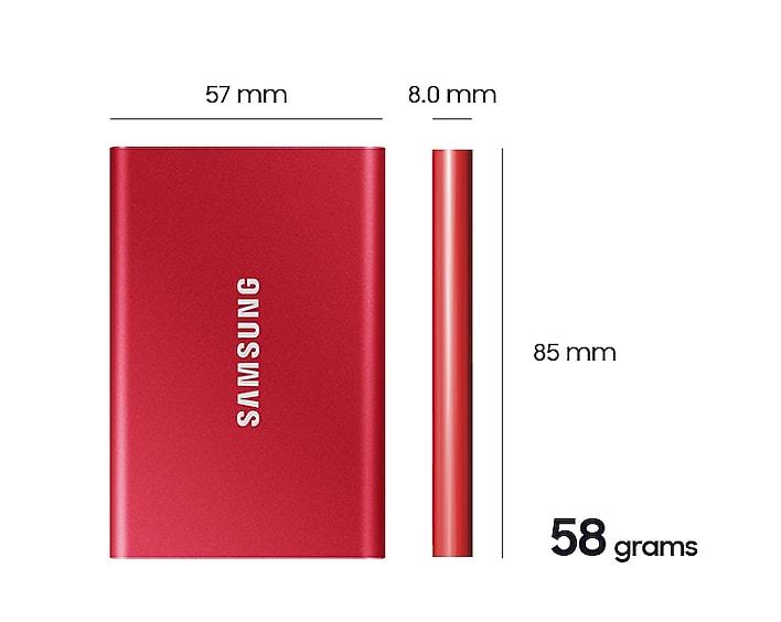 Samsung External SSD T7 21