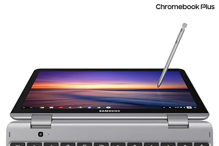 Samsung Chromebook Plus V2 (Intel® Core™ m3, 64GB eMMC), Light Titan