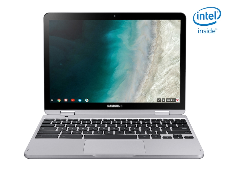 Samsung Chromebook Plus V2 (Intel Celeron, 32GB eMMC), Light Titan