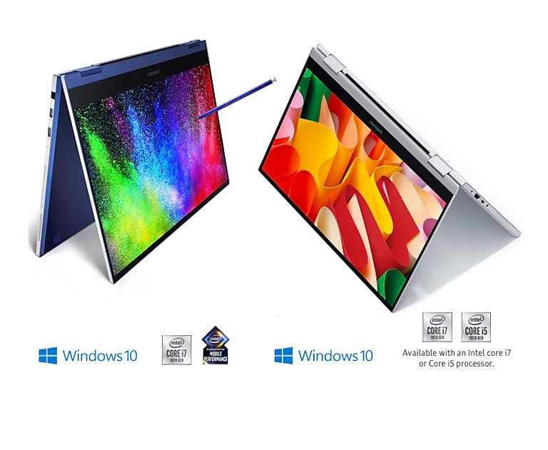 QLED brilliance in a powerful 2-in-1 PC