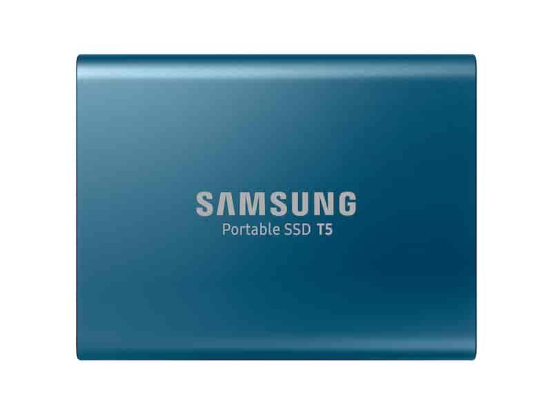 Portable SSD T5 USB 3.1 500GB (Blue)