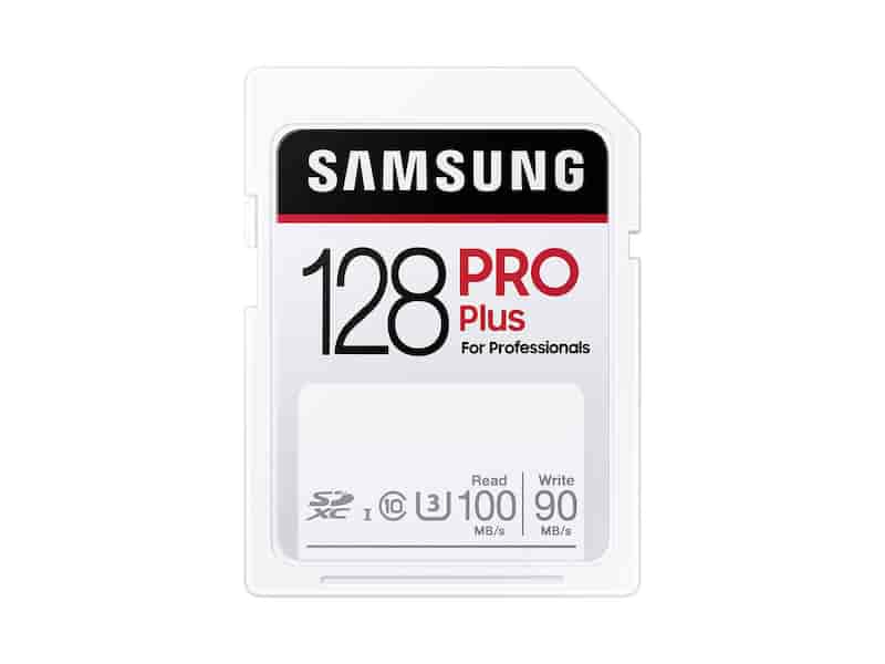 PRO Plus SDXC Full-size SD Card 128GB