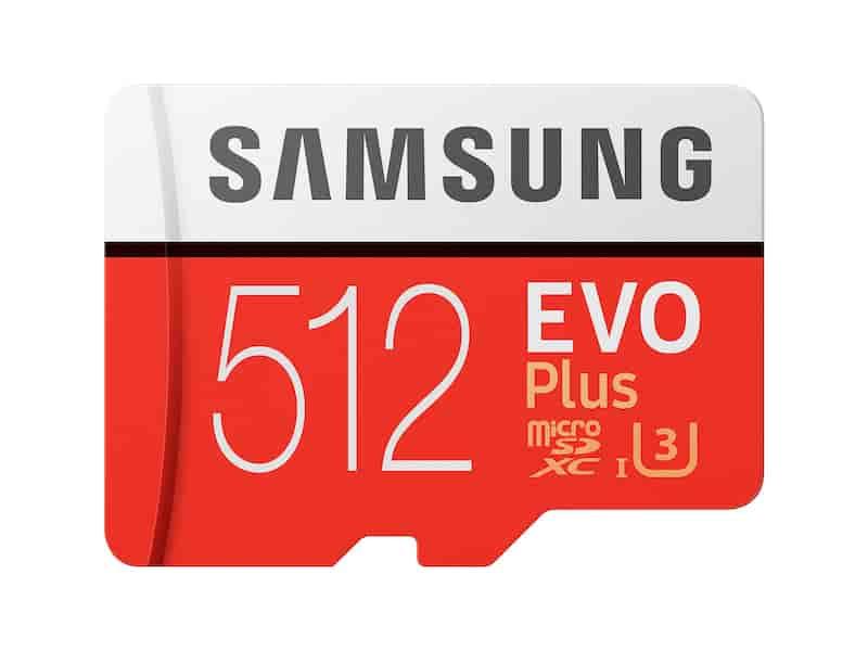 EVO Plus microSDXC Memory Card 512GB
