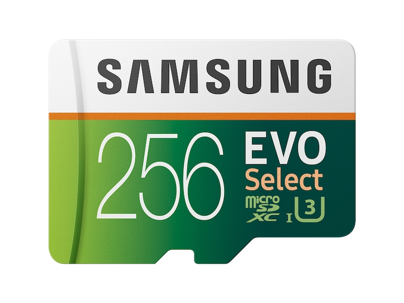 EVO Select microSDXC Memory Card 256GB