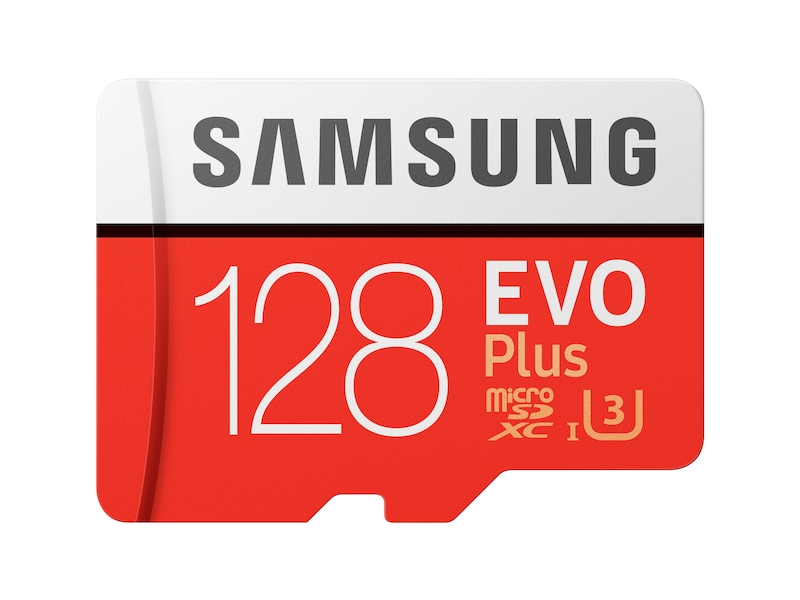 MicroSDXC EVO Plus Memory Card w/Adapter 128GB